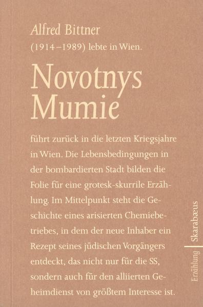 Novotnys Mumie als Buch (kartoniert)