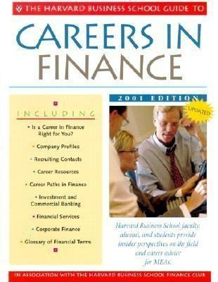 The Harvard Business School Guide to Careers in Finance 2001 als Taschenbuch