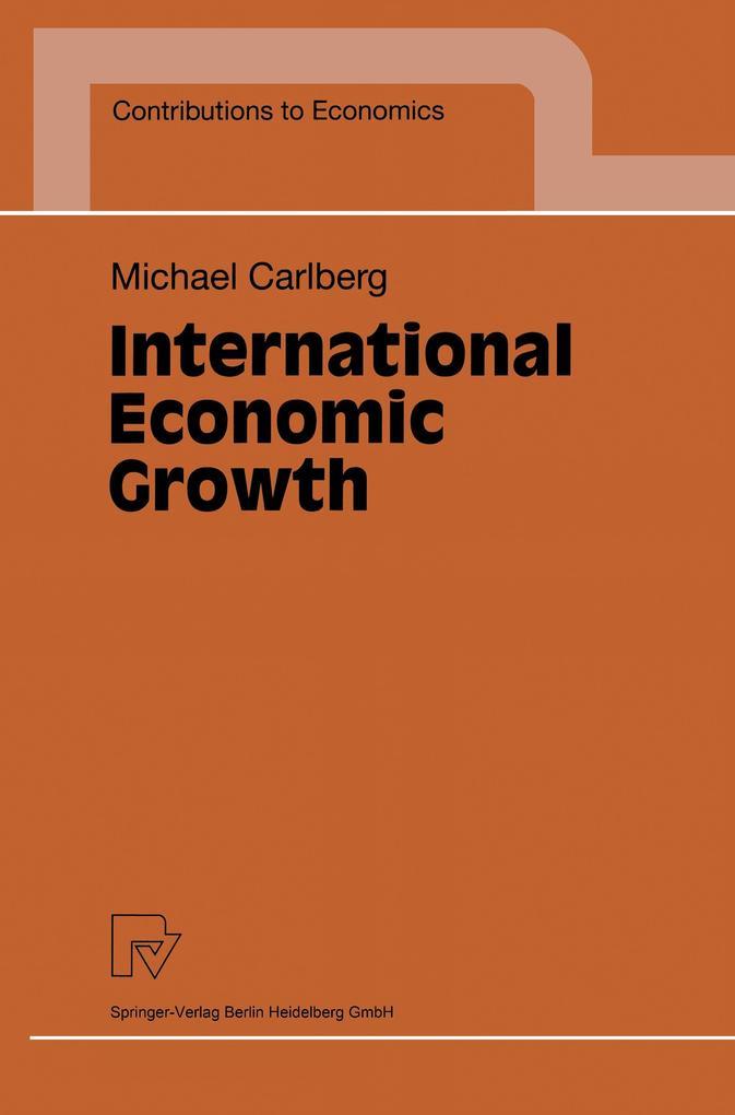 International Economic Growth als Buch (kartoniert)