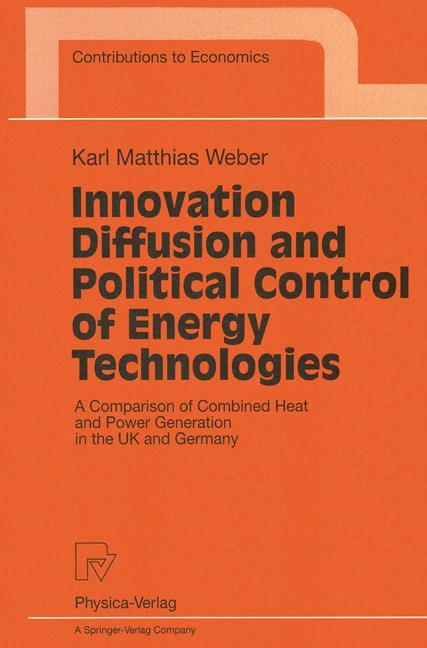 Innovation Diffusion and Political Control of Energy Technologies als Buch (kartoniert)