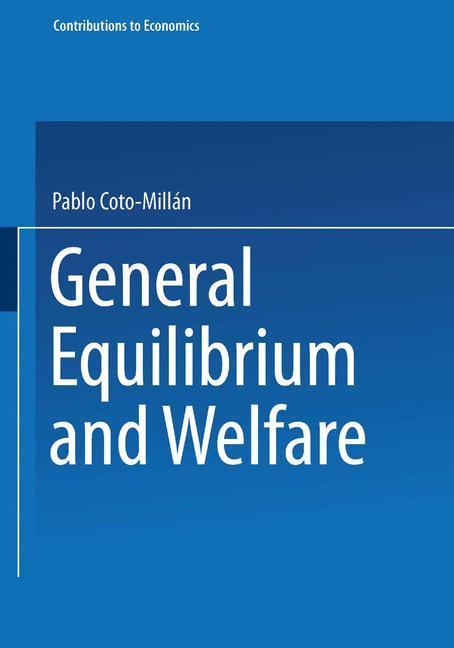 General Equilibrium and Welfare als Buch (kartoniert)