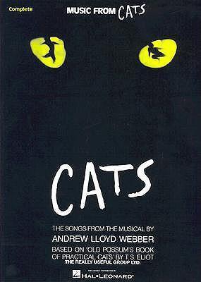 Cats: Vocal Arrangement with Piano Accompaniment als Taschenbuch