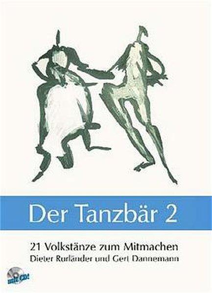 21 Volkstänze zum Mitmachen, m. Audio-CD als Buch (kartoniert)