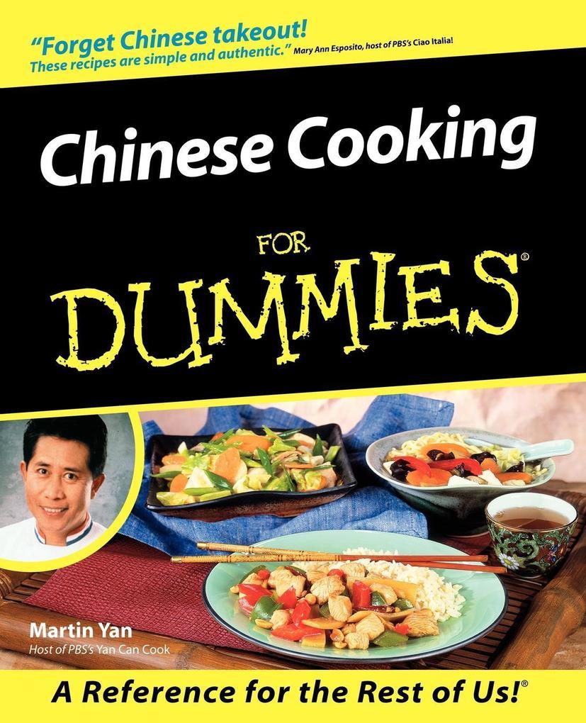 Chinese Cooking For Dummies als Taschenbuch