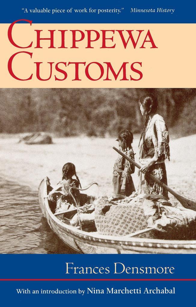 Chippewa Customs als Taschenbuch