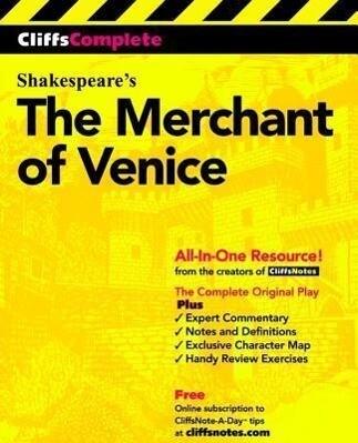 Cliffscomplete Merchant of Venice als Buch (kartoniert)