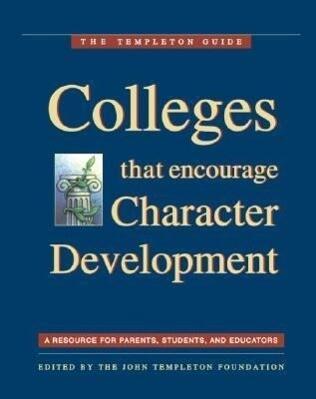 Colleges That Encourage Character Development als Taschenbuch
