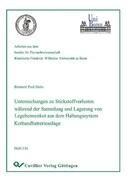 Untersuchung zu Stickstoffverlusten während der Sammlung und Lagerung von Legehennenkot aus dem Haltungssystem Kotbandbatterieanlag