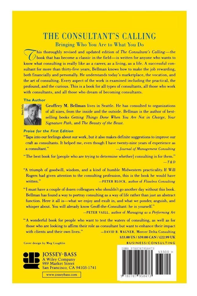 The Consultant's Calling als Buch (kartoniert)