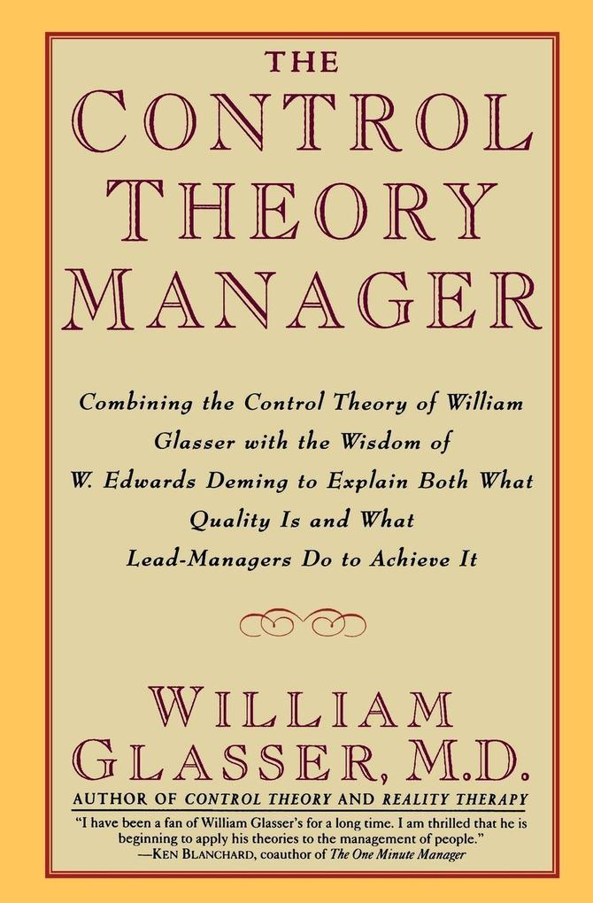 Control Theory Manager, The als Buch (kartoniert)