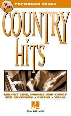 Country Hits: Paperback Songs als Taschenbuch