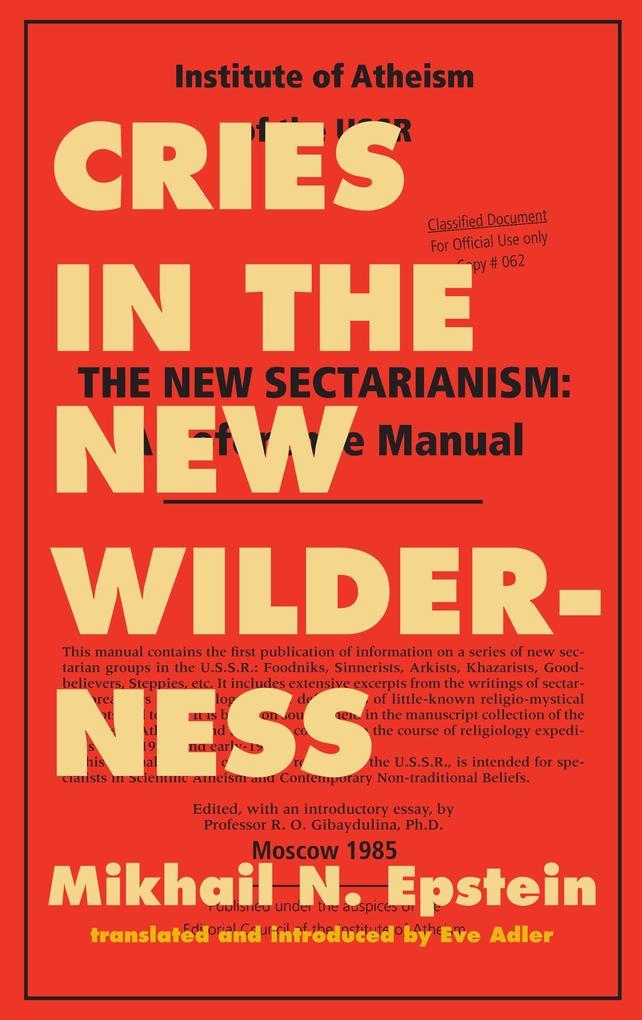 Cries in the New Wilderness als Taschenbuch