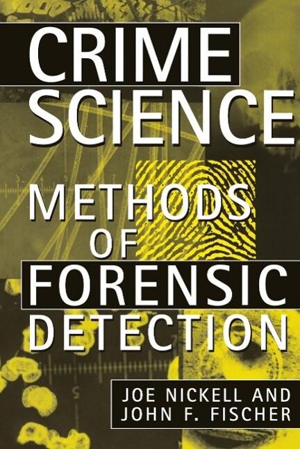 Crime Science: Methods of Forensic Detection als Buch (gebunden)