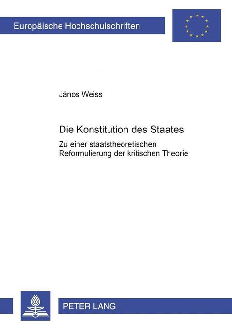 Die Konstitution des Staates als Buch (kartoniert)