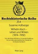 Wilhelm Kisch - Leben und Wirken (1874-1952)