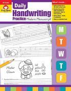 Daily Handwriting Modern Manuscript