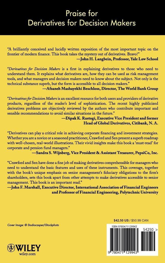 Derivatives for Decision Makers als Buch (gebunden)