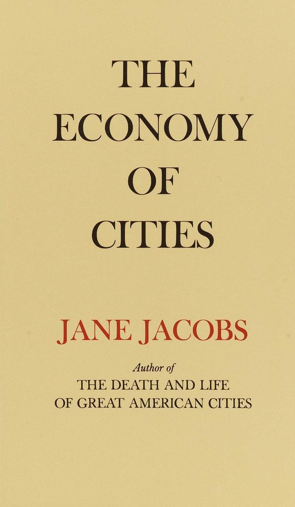 The Economy of Cities als Taschenbuch