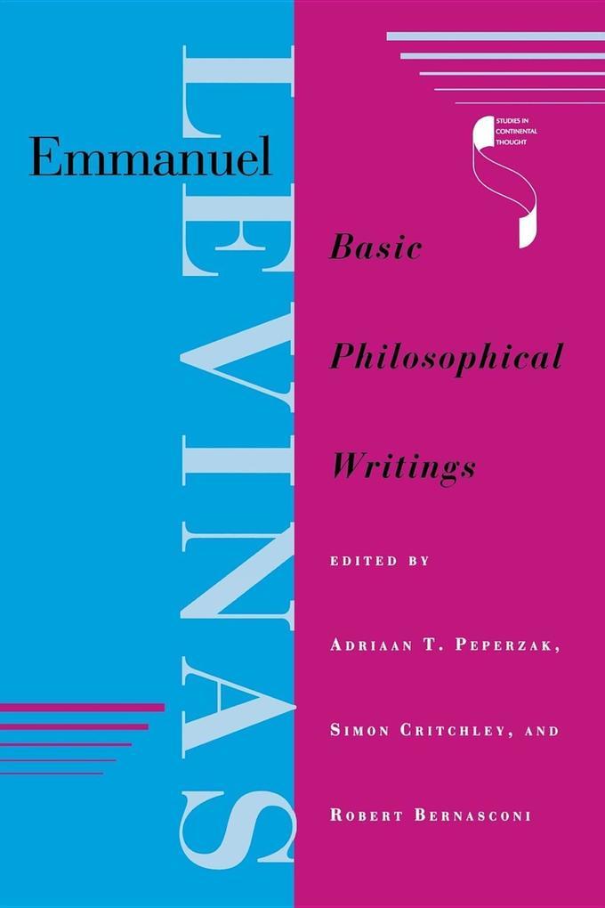 Emmanuel Levinas: Basic Philosophical Writings als Buch (kartoniert)