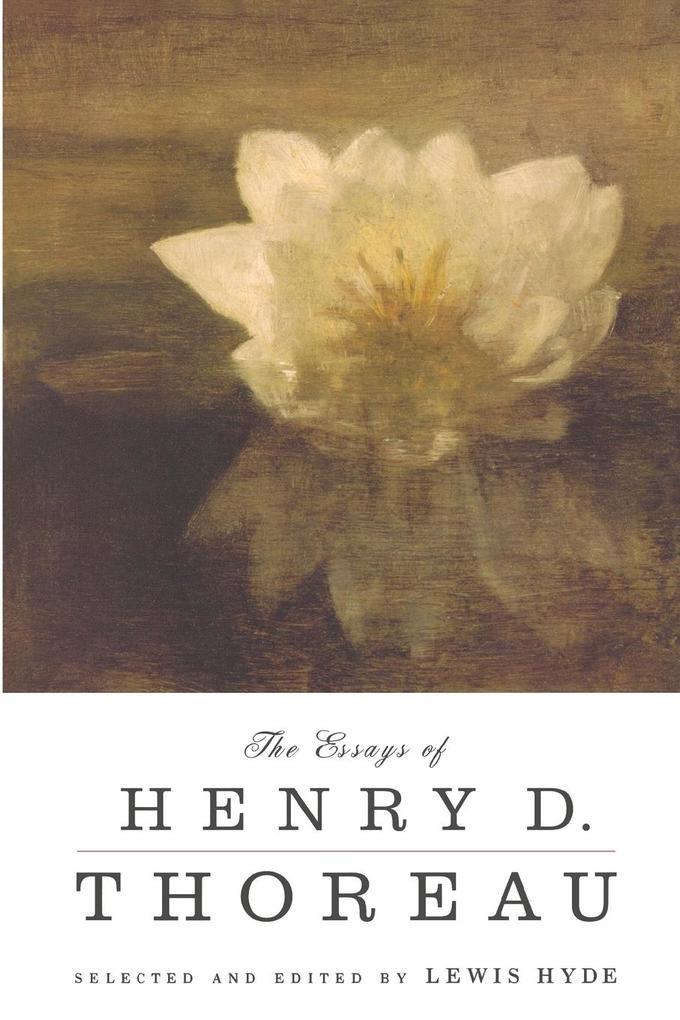 The Essays of Henry D. Thoreau als Taschenbuch