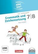 Alles klar! Deutsch Sekundarstufe I 7./8. Schuljahr. Grammatik und Zeichensetzung