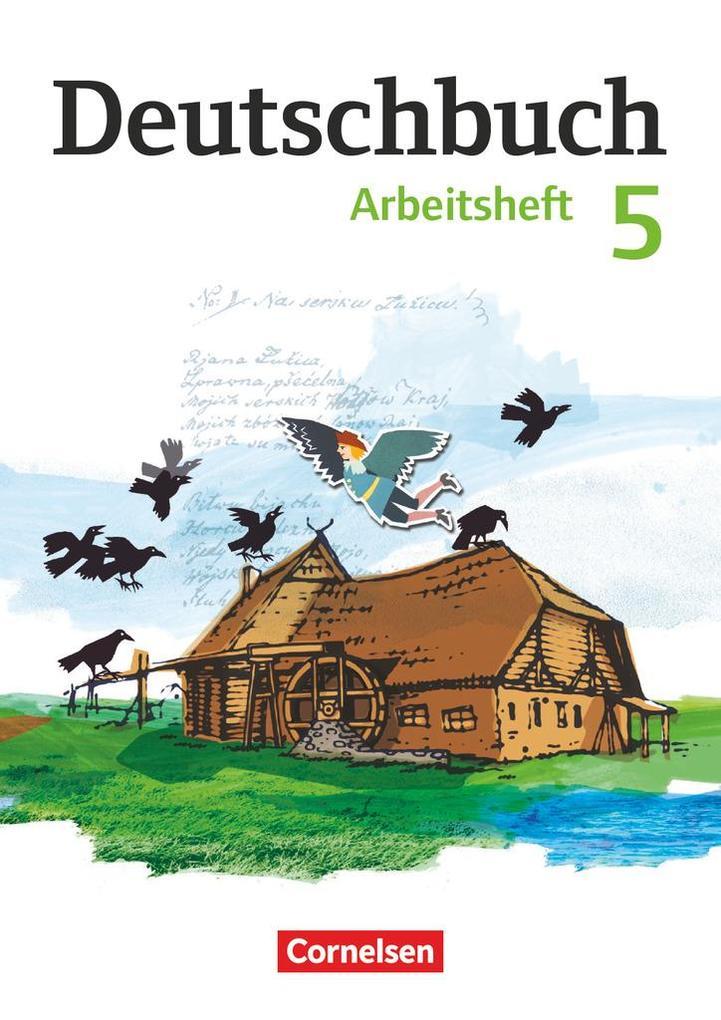 Deutschbuch 5. Schuljahr Gymnasium. Arbeitsheft mit Lösungen. Östliche Bundesländer und Berlin als Buch (kartoniert)