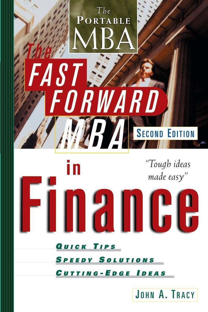 The Fast Forward MBA in Finance als Buch (kartoniert)