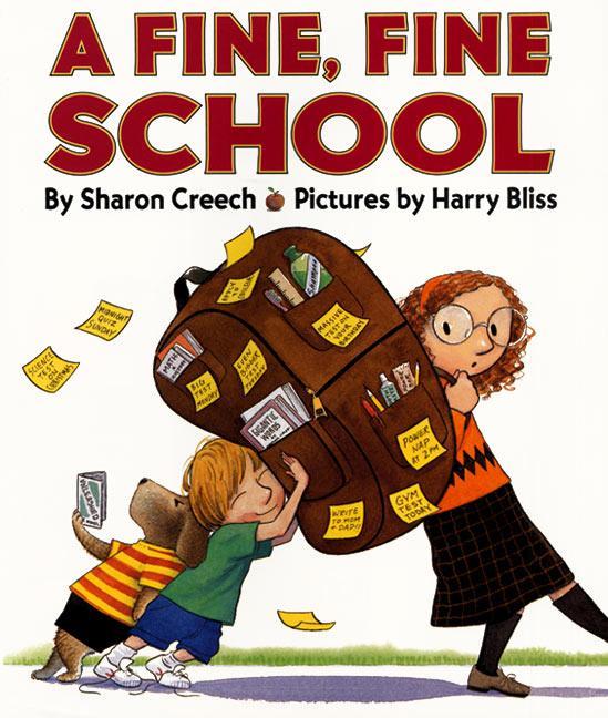 A Fine, Fine School als Buch (gebunden)