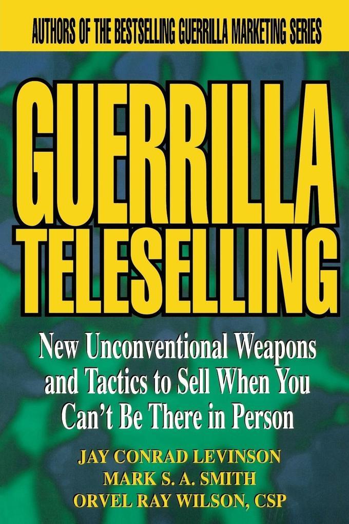 Guerrilla Teleselling als Buch (kartoniert)