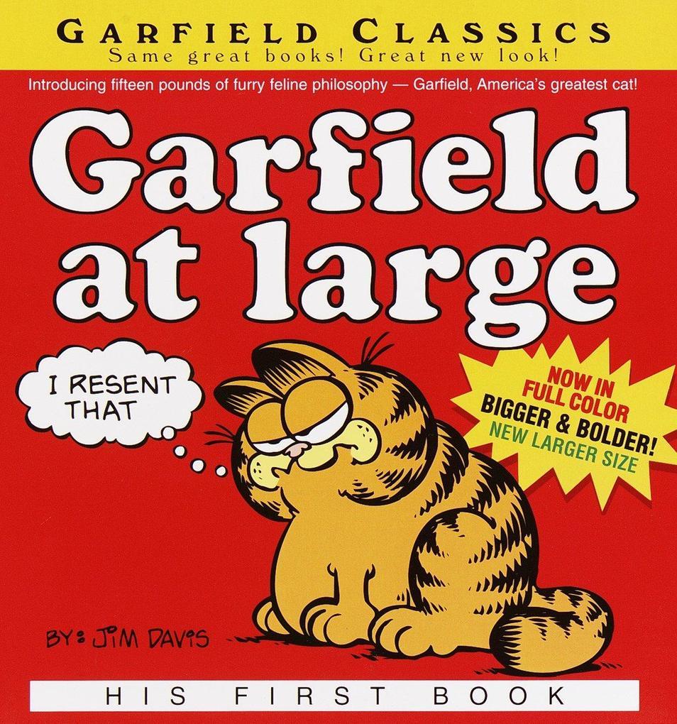 Garfield at Large: His 1st Book als Taschenbuch