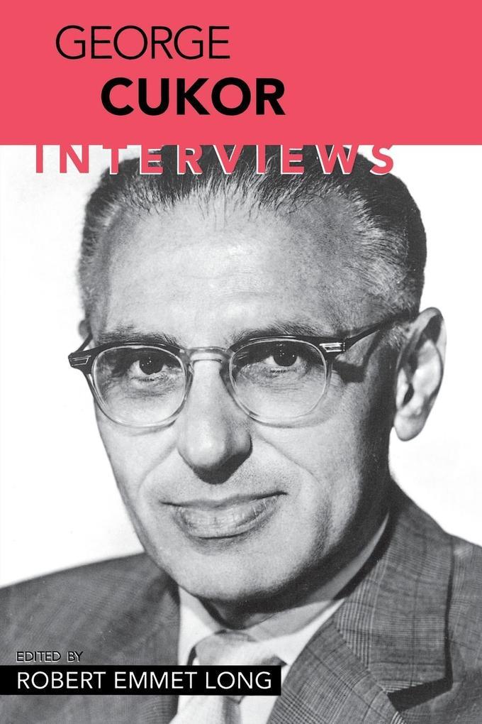 George Cukor: Interviews als Taschenbuch