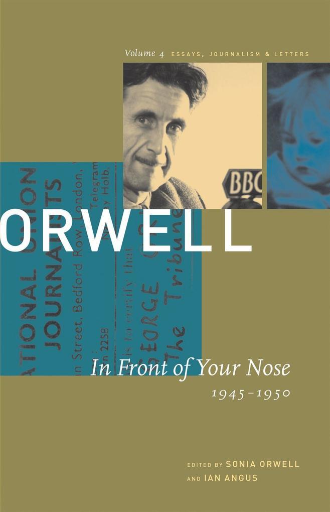 In Front of Your Nose: 1946-1950 als Taschenbuch