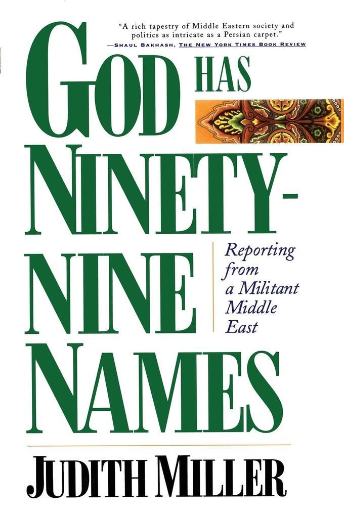 God Has Ninety-Nine Names als Buch (kartoniert)