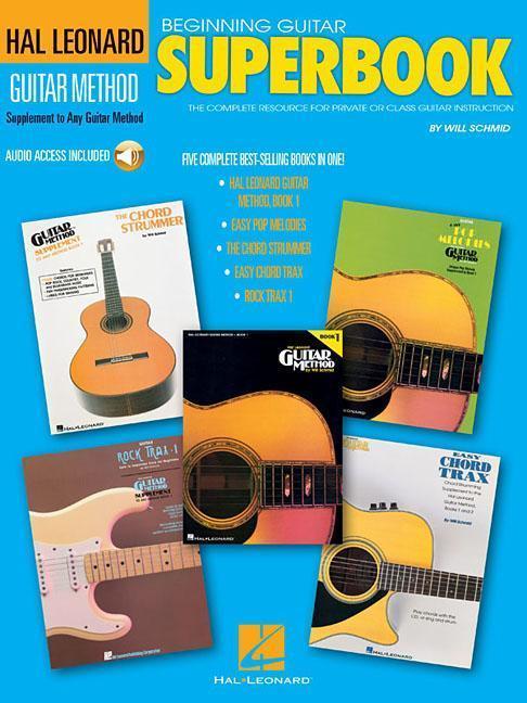 The Hal Leonard Guitar Superbook: Book with Online Audio Tracks als Taschenbuch