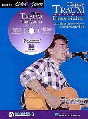 Happy Traum Teaches Blues Guitar [With *] als Taschenbuch