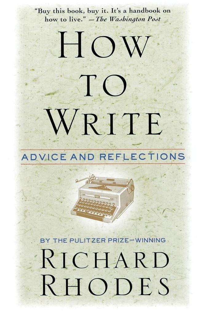 How to Write als Taschenbuch