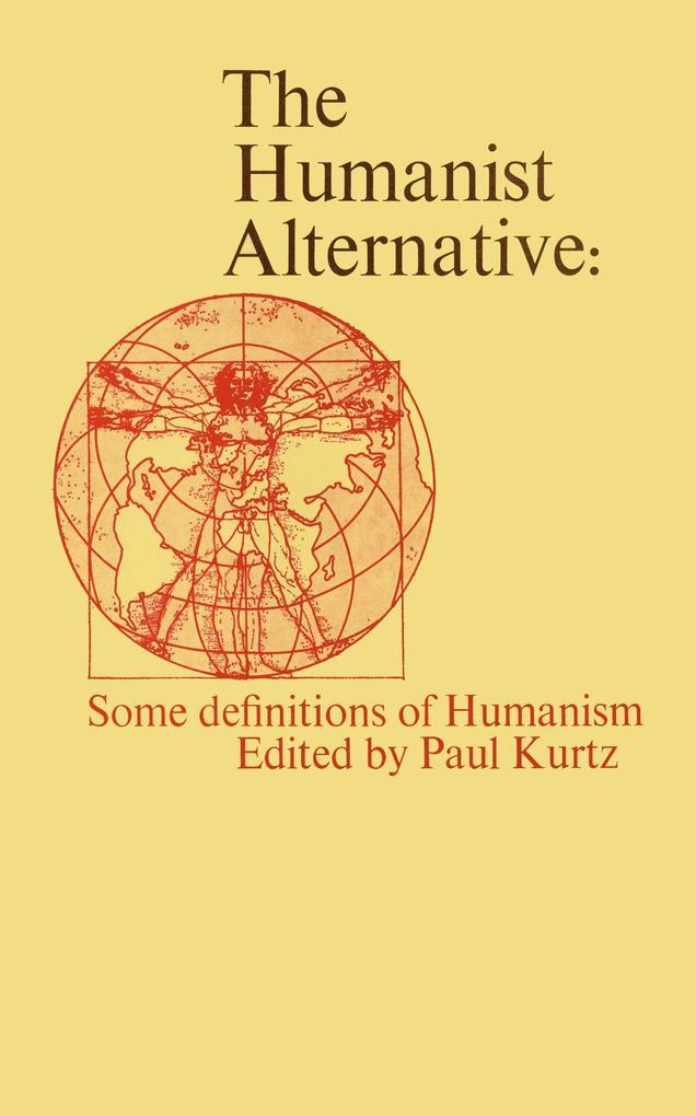 The Humanist Alternative als Buch (gebunden)