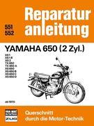Yamaha 650 (2 Zyl.) ab 1970