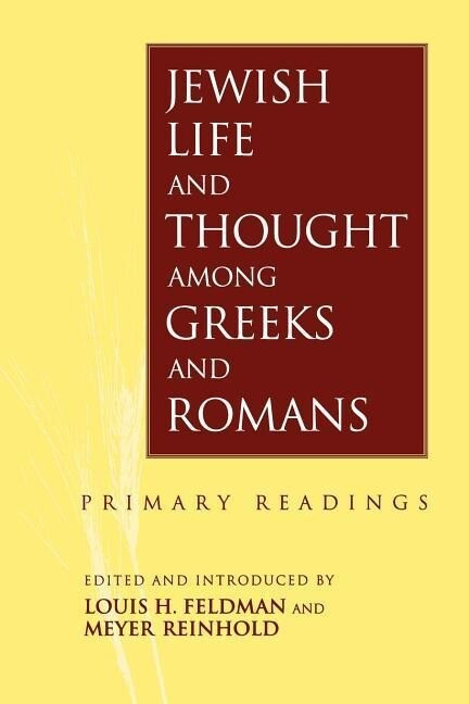 Jewish Life and Thought Among Greeks and Romans als Taschenbuch