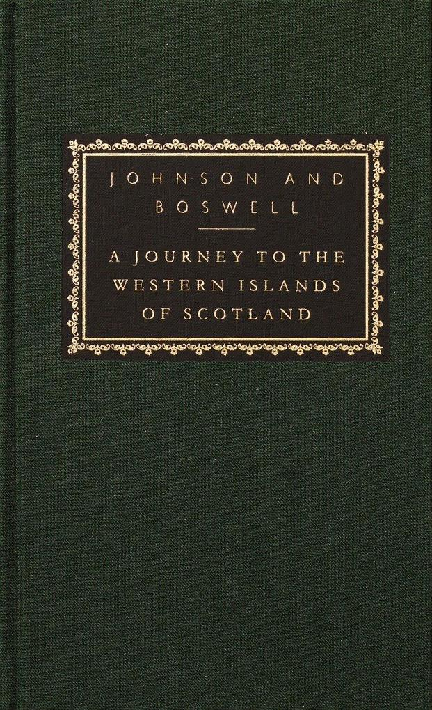 A Journey to the Western Islands of Scotland: With the Journal of a Tour to the Hebrides [With Ribbon Marker] als Buch (gebunden)