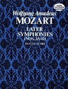 Later Symphonies: Nos. 35-41 in Full Score