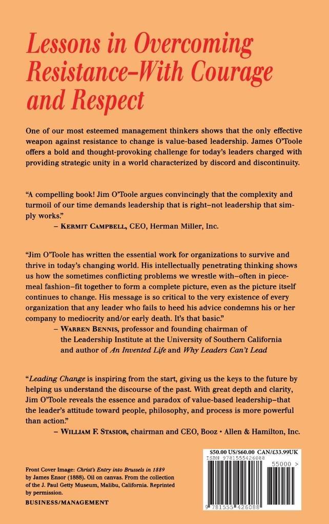 Leading Change als Buch (gebunden)