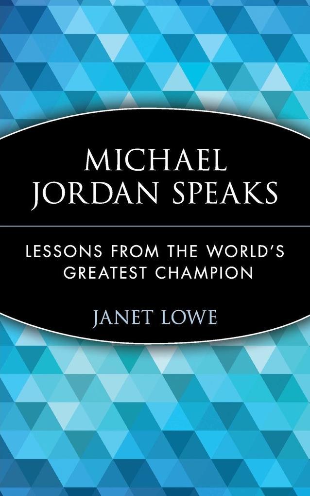 Michael Jordan Speaks als Buch (kartoniert)