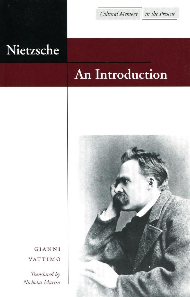 Nietzsche: An Introduction als Taschenbuch