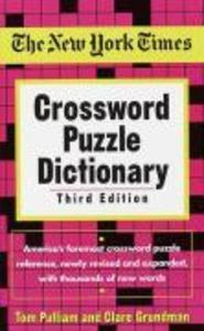 New York Times Crossword Puzzle Dictionary als Taschenbuch
