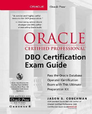 Oracle Certified Professional DBO Certification Exam Guide [With CDROM] als Buch (gebunden)