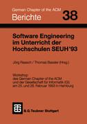 Software Engineering im Unterricht der Hochschulen SEUH '93