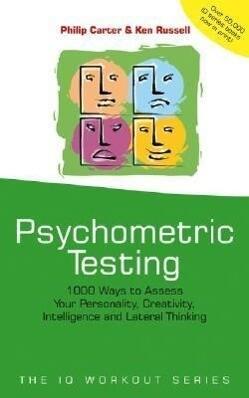 Psychometric Testing als Buch