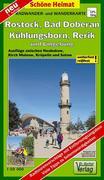 Hansestadt Rostock, Kühlungsborn, Bad Doberan, Rerik und Umgebung 1 : 50 000