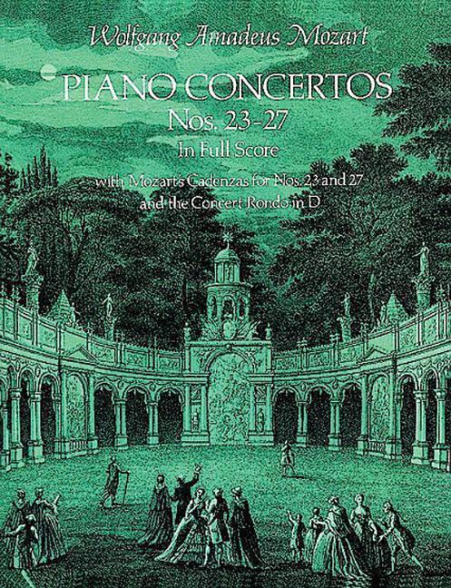 Piano Concertos Nos. 23-27 in Full Score als Taschenbuch